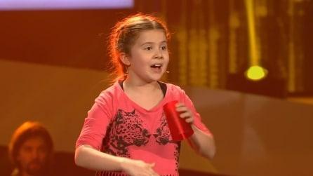 """The Voice Kids, a 8 anni conquista i giudici con l'interpretazione di """"Cups"""""""