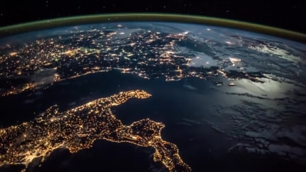 L'Italia vista dallo spazio da Samantha Cristoforetti