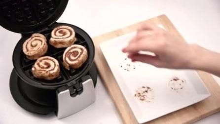 7 modi diversi di usare la piastra per i waffle