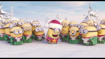 I simpatici Minions augurano buon Natale