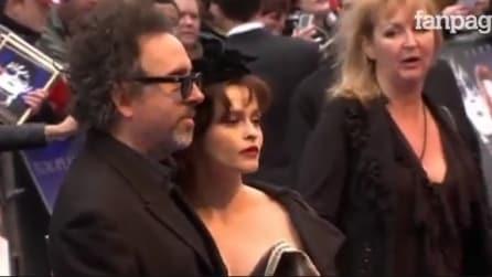 Tim Burton e Helena Bonham Carter insieme da 13 anni si lasciano a Natale