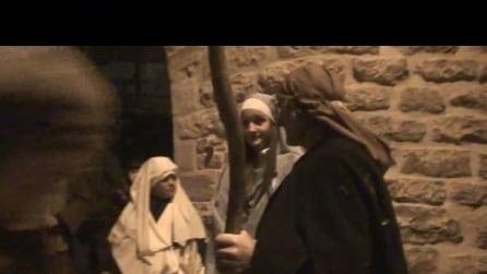 presepe vivente ad almenno San Salvatore il 5 1 2015 4° video