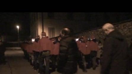 presepe vivente ad almenno San Salvatore il 5 1 2015 2° video