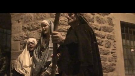 presepe vivente ad almenno San Salvatore il 5 1 2015 5° video
