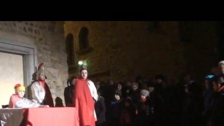 presepe vivente ad almenno San Salvatore il 5 1 2015 6° video