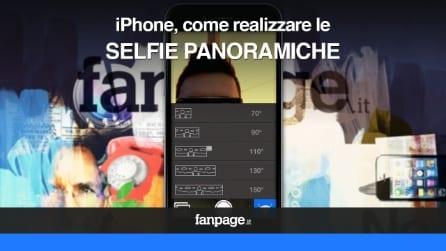 Come realizzare selfie panoramiche con iPhone, iPad e iPod Touch
