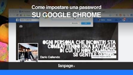 Come proteggere la privacy in Google Chrome con una password