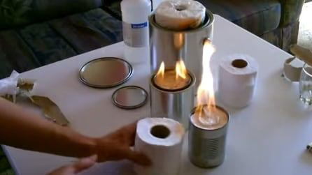Basta mettere un rotolo di carta igienica all'interno di una lattina, il risultato vi stupirà