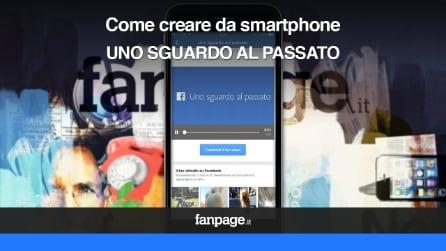 """Come creare """"Uno sguardo sul passato"""" da Facebook per iPhone e Android"""