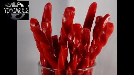 Come creare in casa delle caramelle rosse alla liquirizia