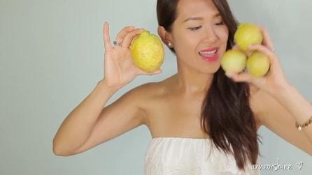 Il limone alleato della tua bellezza: ecco 3 modi per usarlo nella cura del tuo corpo