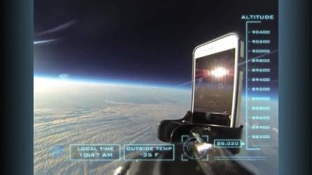 IPhone 6 spedito nello spazio, ritorna a terra in condizioni perfette