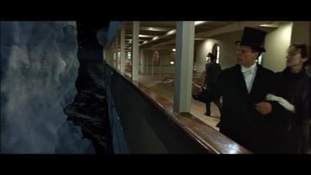 Titanic, la scena dell'iceberg tagliata