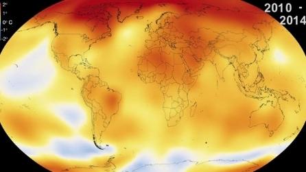 Allarme Nasa, il 2014 l'anno più caldo di sempre dal 1880