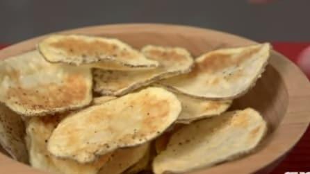 Come fare le patatine in casa, usando il forno a microonde
