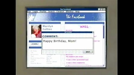 E se Facebook fosse stato inventato nel 1995?