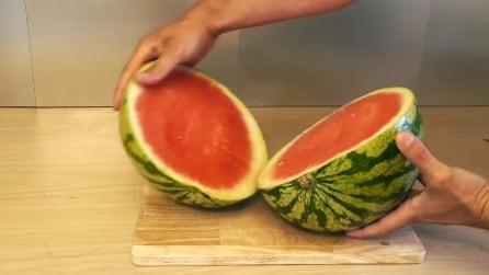Come servire il cocomero in modo originale