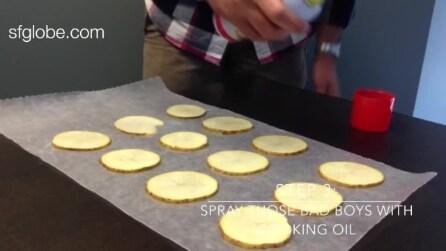 Gustose patatine fatte in casa, ecco come prepararle