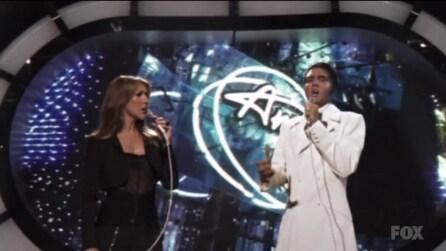 Elvis Presley e Céline Dion cantano insieme grazie alla tecnologia