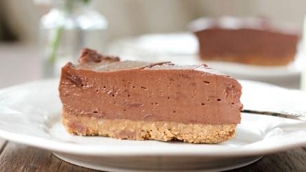 La gustosa ricetta della cheescake alla Nutella