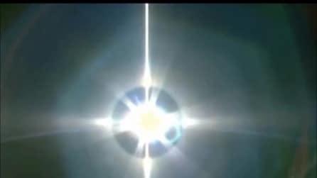 La meravigliosa alba vista dalla Stazione Spaziale Internazionale