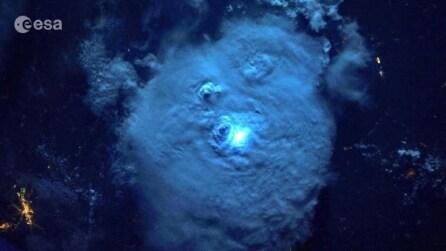 Com'è una tempesta vista dallo spazio?