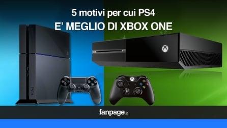 5 motivi per cui PS4 è meglio di Xbox One