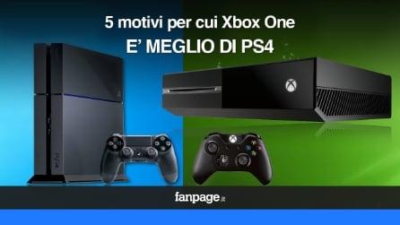 5 motivi per cui Xbox One è meglio di PS4
