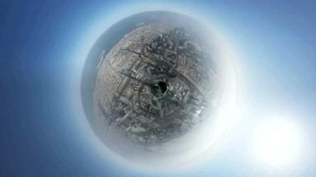 Dubai, il timelapse dal grattacielo più alto del mondo