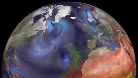 Come l'aria inquinata dall'Asia può influire sui cambiamenti climatici di tutto il mondo