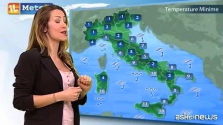 Le previsioni meteo per il 4 febbraio 2015