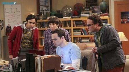 The Big Bang Theory 8x14 Sheldon e Leonard scrivono un paper (sub ita)