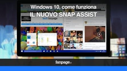 Windows 10, come funziona il nuovo Snap Assist
