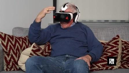 La reazione degli anziani al porno virtuale, l'esperimento sociale