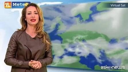 Previsioni meteo per mercoledì 11 febbraio