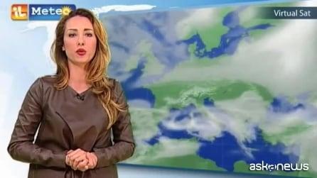 Previsioni meteo per giovedì 12 febbraio