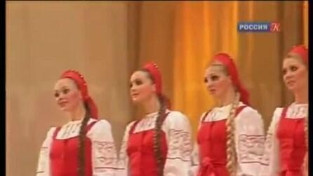 Berezka, il tradizionale ballo russo