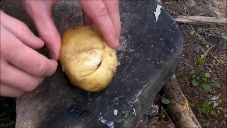 Come cuocere un uovo in una patata