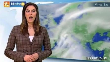 Previsioni meteo per giovedì 26 febbraio