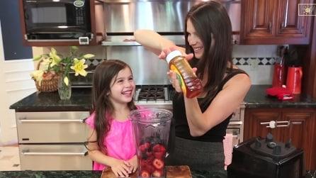 I vostri figli non vogliono mangiare frutta? Ecco la soluzione