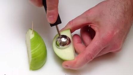 Taglia una mela in due e realizza qualcosa di straordinario