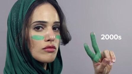 100 anni di bellezza per una donna iraniana: dall'acconciatura al velo