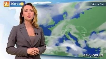 Previsioni meteo per sabato 21 febbraio