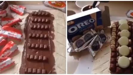 È questo il dolce più calorico che c'è? Nutella, Oreo e molto altro
