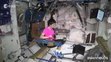 """Cristoforetti: """"Ecco perché è importante fare palestra nello spazio"""""""