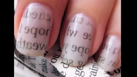 Come trasformare le vostre unghie in una pagina di una rivista