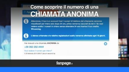 Come scoprire il numero di una chiamata anonima