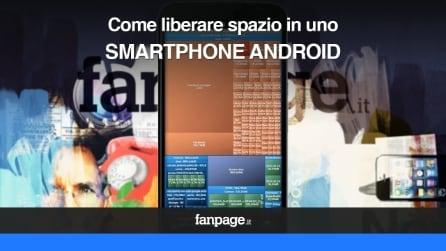Come liberare spazio negli smartphone Android