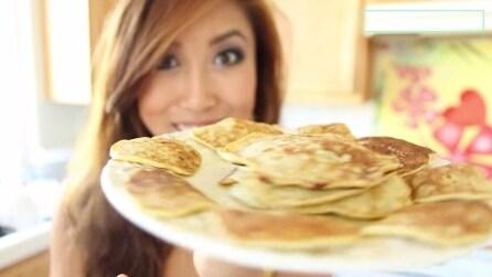 Pancake alla banana, ecco come si preparano
