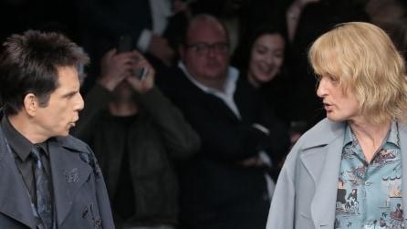Sorpresa Valentino, alla sfilata spunta Zoolander